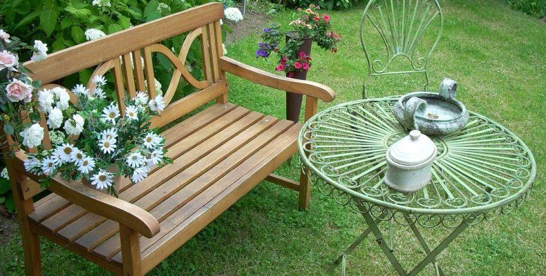Дизайн сада в романтическом стиле