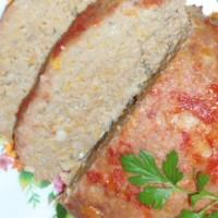 Домашний мясной хлеб