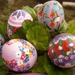 Как красить яйца на Пасху —  еще несколько простых способов
