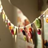 Красивые новогодние гирлянды своими руками: 50+ фото-идей