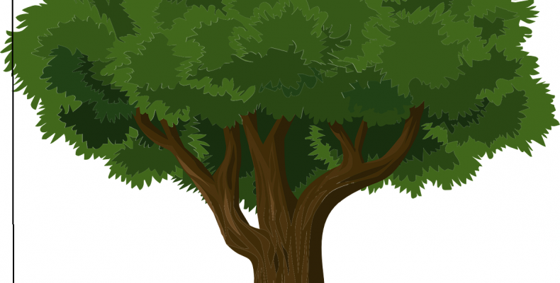 Как спилить большое дерево?